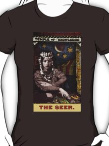 The Seer: Circus Tarot by Duck Soup Productions T-Shirt