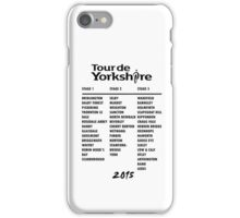Tour de Yorkshire 2015 Tour - On back iPhone Case/Skin