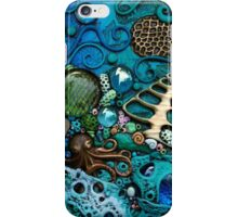 Blue Octopus Underwater Fantasy iphone ipod Cover iPhone Case/Skin