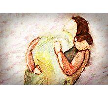 Mama and Baby Photographic Print