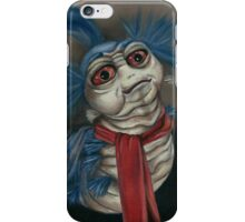 Labyrinth Worm - Oil Painting  iPhone Case/Skin