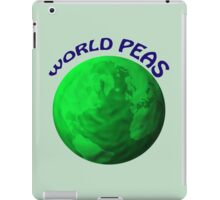 World Peas iPad Case/Skin