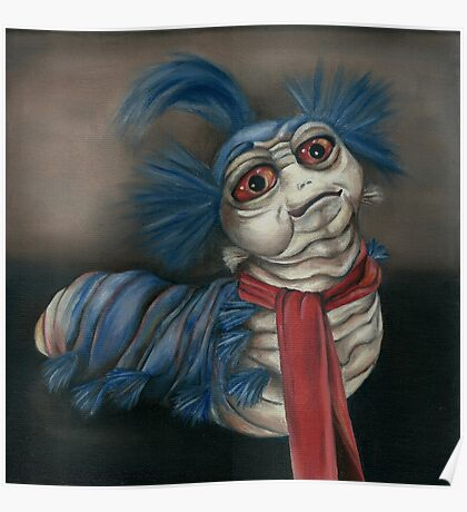 Labyrinth Worm - Oil Painting  Poster