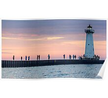 Picture The Sunset Photographer Poster