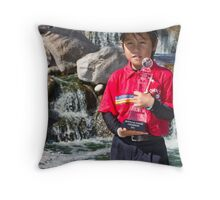 Ken Shibata Throw Pillow