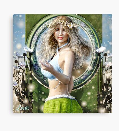 Fairy fields Canvas Print