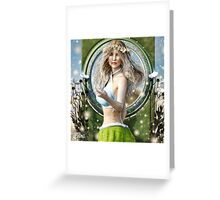 Fairy fields Greeting Card