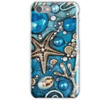 Blue Starfish and Coral iphone ipod Cover iPhone Case/Skin