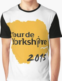 Tour de Yorkshire 2015 Graphic T-Shirt