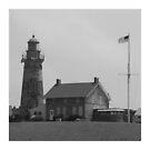 Fairport Harbor Lighthouse by Bob Hardy