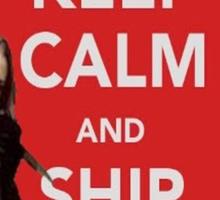Ship Fuffy Sticker