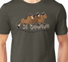 Steppin'out with a Standardbred Unisex T-Shirt