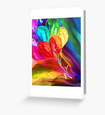 Rainbow Chaser Greeting Card