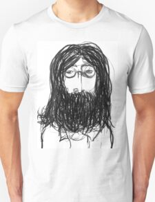John Lennon Pencil Drawing T-Shirt