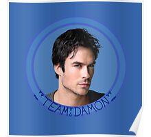 Team Damon - TVD - The Vampire Diaries - (Designs4You) Poster