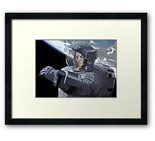 Z-Astro Framed Print