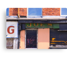 Joe's, Regent Road, Liverpool, England Canvas Print