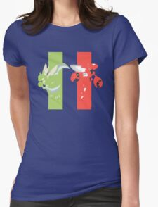 RG: Scyther - Scizor Womens Fitted T-Shirt