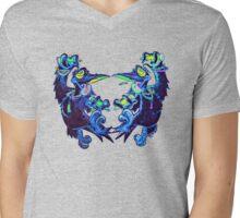 Rave N' Ravens  Mens V-Neck T-Shirt