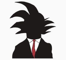 Goku Silhouette by Roberto A Camacho