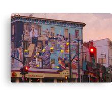 Broadway and Columbus Canvas Print