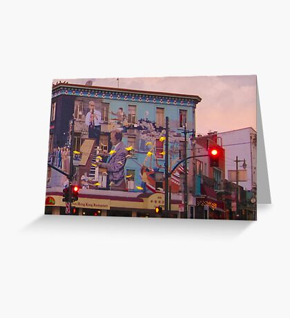 Broadway and Columbus Greeting Card