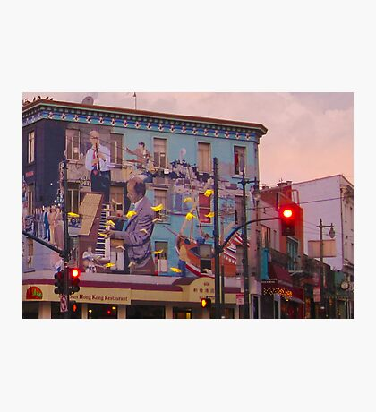 Broadway and Columbus Photographic Print