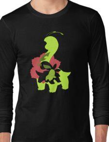 Chikorita - Bayleef - Meganium Long Sleeve T-Shirt