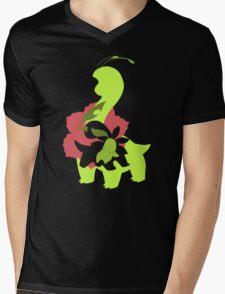 Chikorita - Bayleef - Meganium Mens V-Neck T-Shirt