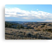 Top of The Breaks Canvas Print