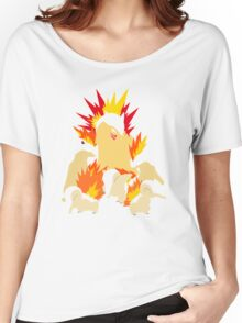 Cyndaquil - Quilava - Typhlosion Women's Relaxed Fit T-Shirt