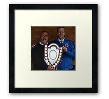 Cuddington FC - Crewe Junior Shield Winners 2013 Framed Print