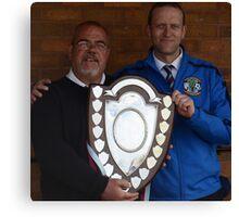 Cuddington FC - Crewe Junior Shield Winners 2013 Canvas Print