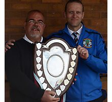 Cuddington FC - Crewe Junior Shield Winners 2013 Photographic Print