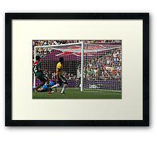 Hulk - Brazil Framed Print