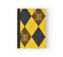 Hufflepuff Argyle Hardcover Journal