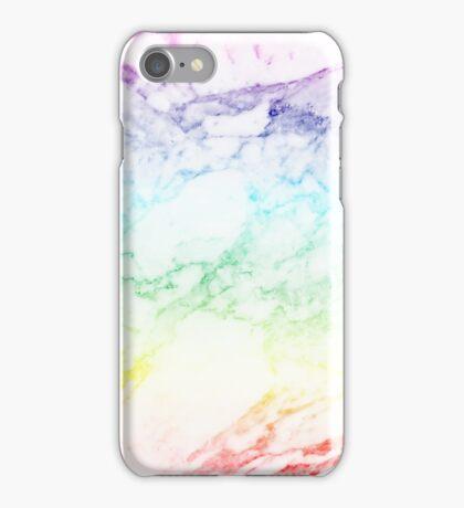 RAINBOW MARBLE iPhone Case/Skin