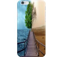 Earth-Artistic iPhone Case/Skin