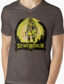 SewerRealm -Yellow Mens V-Neck T-Shirt