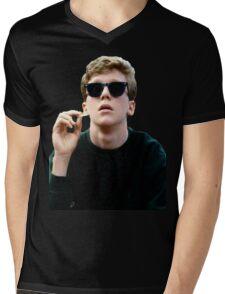 Colored Brian Breakfast Club Mens V-Neck T-Shirt