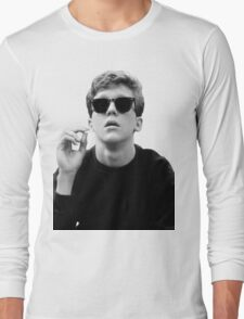 Black and White Brian Breakfast Club Long Sleeve T-Shirt