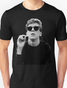 Black and White Brian Breakfast Club Unisex T-Shirt