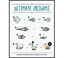 ultimate origami Photographic Print