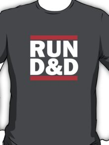 Run Dungeons and Dragons T-Shirt