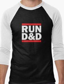 Run Dungeons and Dragons Men's Baseball ¾ T-Shirt