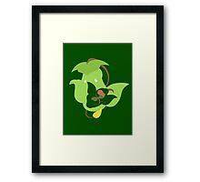 Bellsprout - Weepinbell - Victreebel Framed Print