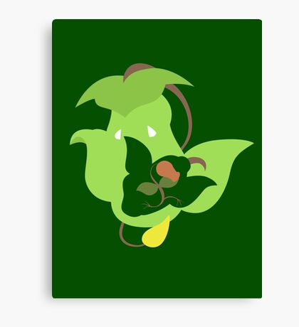 Bellsprout - Weepinbell - Victreebel Canvas Print