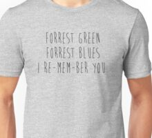 Forrest Green Forrest Blue Unisex T-Shirt