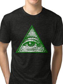 All Seeing Eye Tri-blend T-Shirt