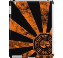 Dharma logo-Lost iPad Case/Skin